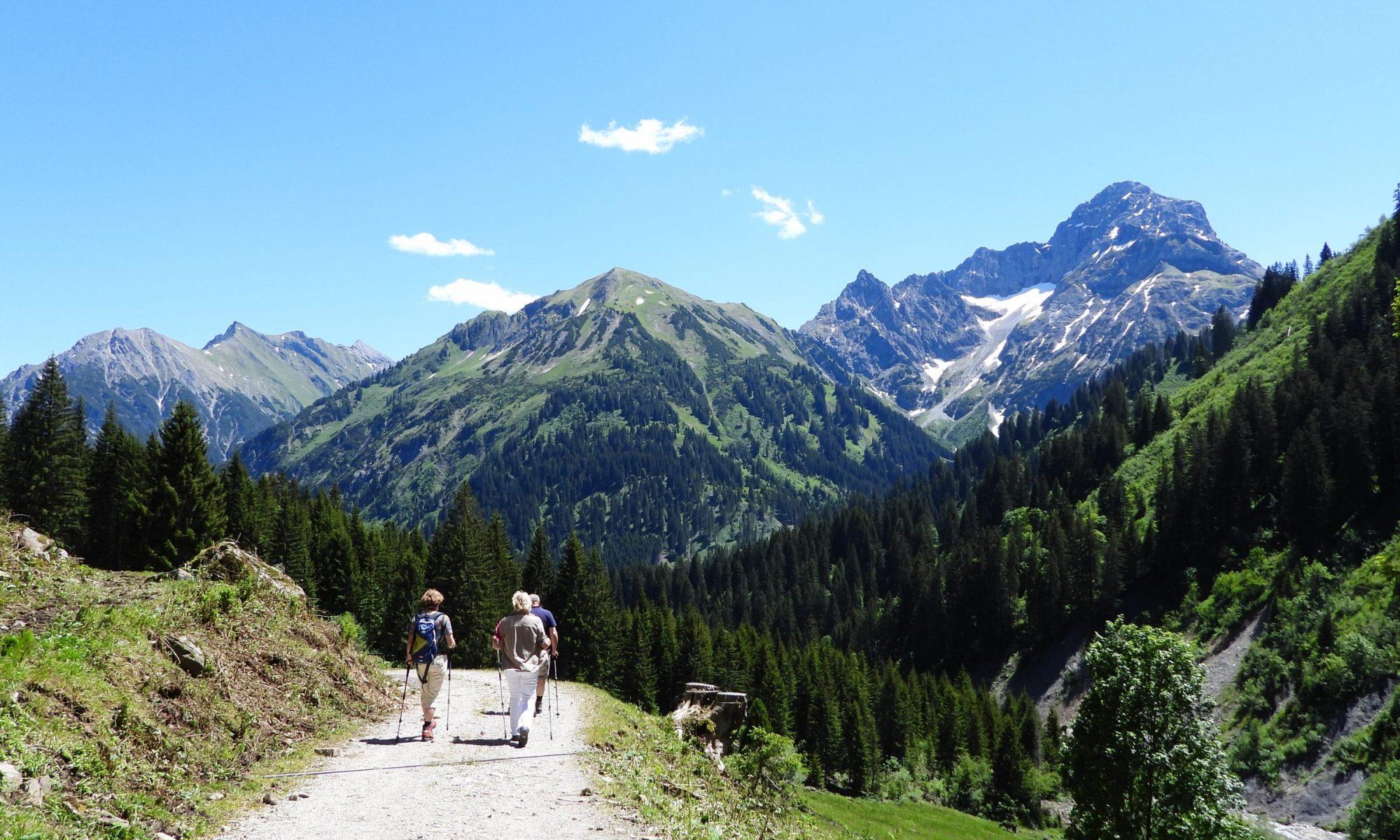 Wandelen in Oostenrijk, Wanderung Kleinwalsertal